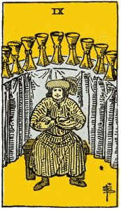9 of Cups-Gutenberg