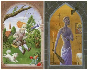 child whip-mystical lenormand