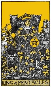 King of Pentacles-Gutenberg