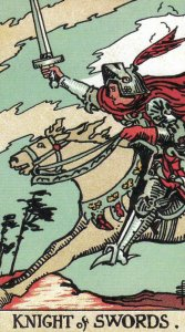 Knight of Swords-Original Rider Waite