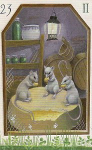 mice-mystical lenormand