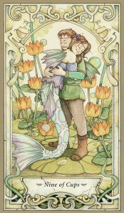 9 of cups-mystic faerie