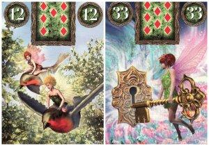 birds key-fairy lenormand