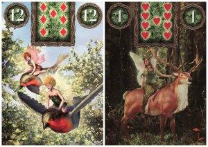 birds rider-fairy lenormand