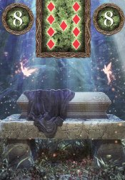 coffin-fairy lenormand