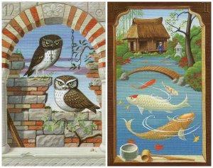 owls fish-mystical lenormand