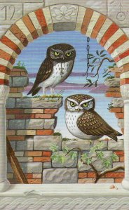 owls-mystical lenormand