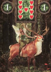 rider-fairy lenormand