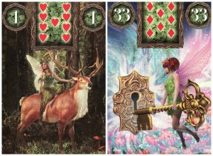 rider key-fairy lenormand