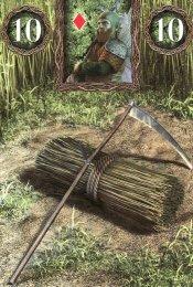 scythe-fairy lenormand