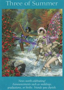 3 of summer-fairy tarot