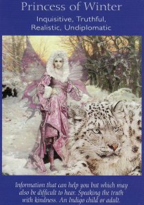princess of winter-fairy tarot