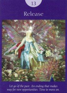 release-fairy tarot