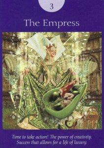 the empress-fairy tarot