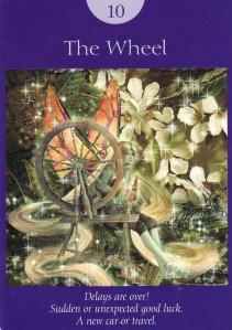 The Wheel-Fairy Tarot