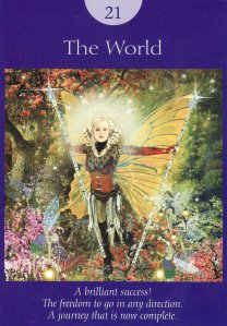 the world-fairy tarot