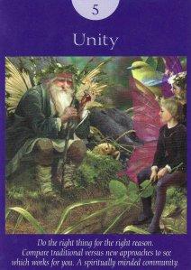 unity-fairy tarot