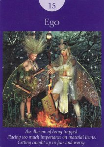 ego-fairy tarot