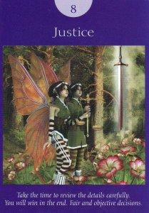 justice-fairy tarot