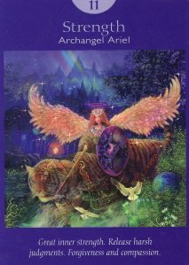 strength-angel tarot