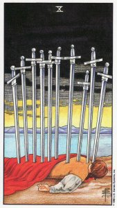 10 of swords-universal waite