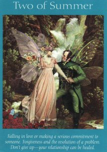 2 of summer-fairy tarot