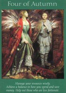 4 of autumn-fairy tarot