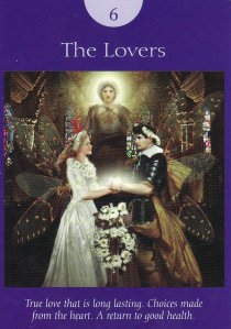 the lovers-fairy tarot
