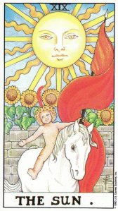 The Sun-Universal Waite Tarot