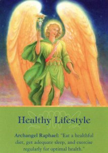healthy lifestyle-archangel oracle