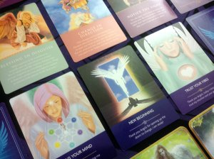 various angel cards