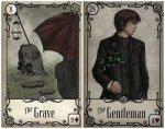 grave gentleman-under the roses
