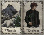 mountain gentleman-under the roses