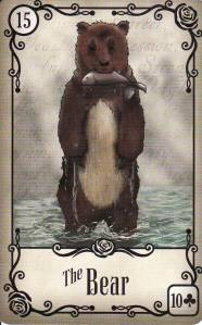 the Bear-Under the Roses Lenormand