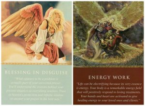 blessing in disguise and energy work-daily guidance