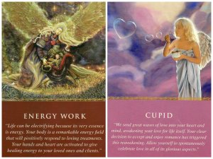 energy work and cupid-daily guidance
