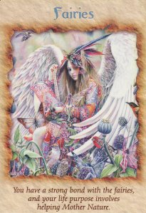Fairies, from the Angel Therapy Oracle Cards. Art by Sheila Wolk.