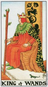 king of wands-universal waite