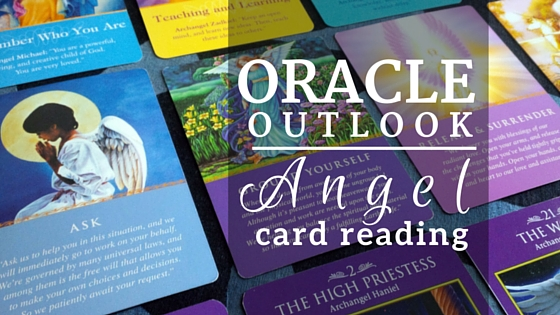oracle outlook-angel card reading header