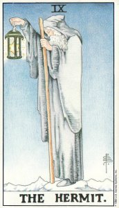 The Hermit-Universal Waite Tarot