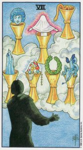 7 of cups-universal waite