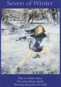 7 of winter-fairy tarot
