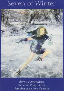 7 of winter-fairy tarot