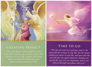 creative project and time to go-daily guidance