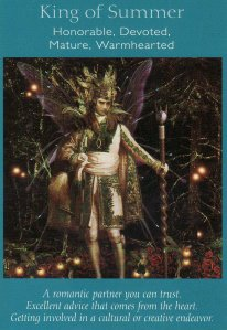king of summer-fairy tarot