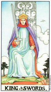 king of swords-universal waite