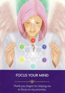 focus your mind-angel prayers