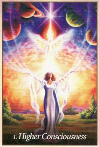 higher consciousness-oracle of the angels