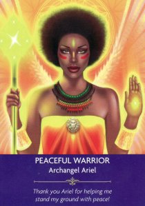 peaceful warrior-angel prayers