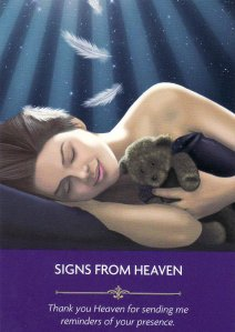 signs from heaven-angel prayers
